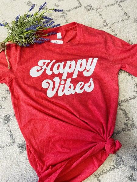 Happy Vibes Graphic Tee
