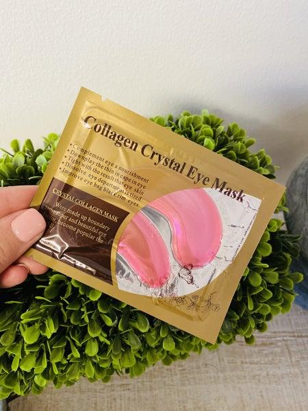 Crystal Collagen Eye Mask ~ Pink *Final Sale*