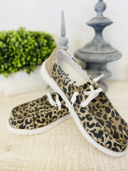 Very G Starstruck Leopard Shoe