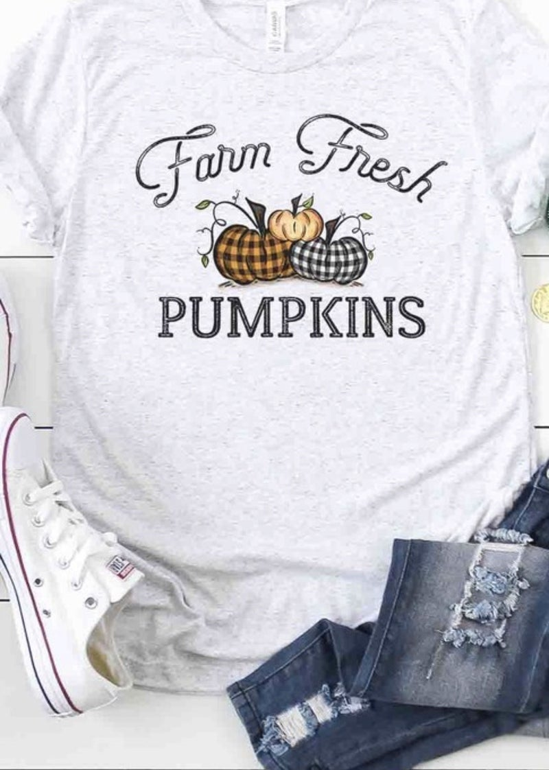 Farm Free Pumpkin's Tee