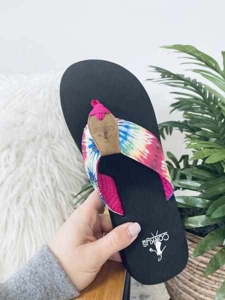 Corky's Trail Flip Flops~ 3 Colors