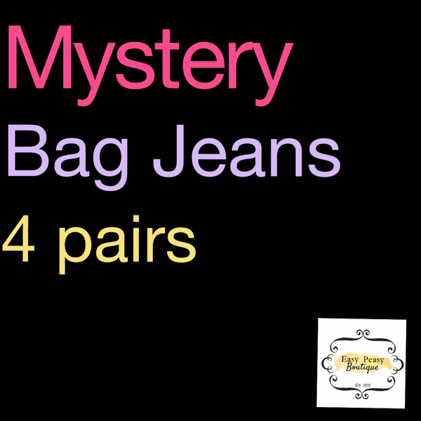 Mystery Jean Bags~ 4 Pairs