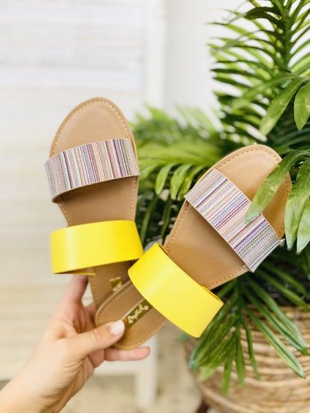 Summer Loving Sandals- Nude Multi