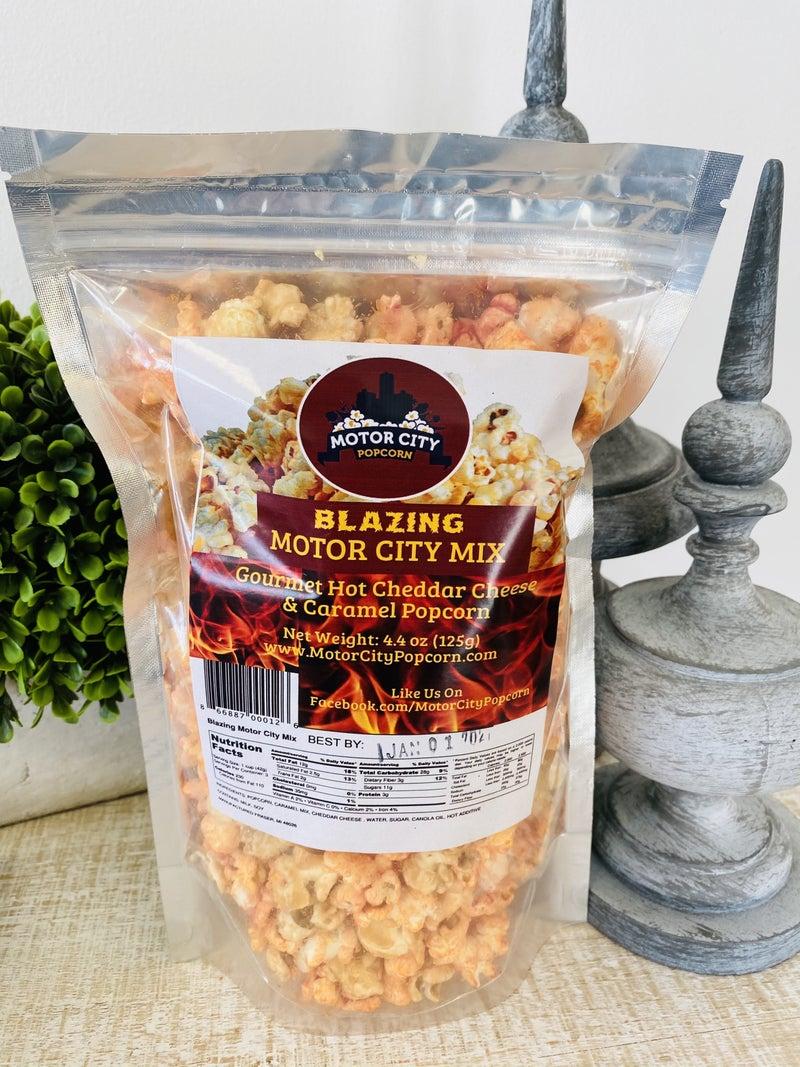 Blazing Motor City Mix Popcorn