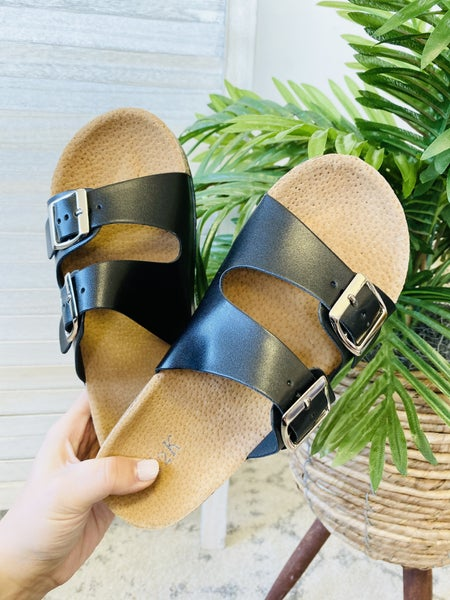 Everyday Black Sandal