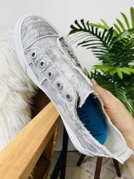 Blowfish Play Gray Splatter Camo Sneakers
