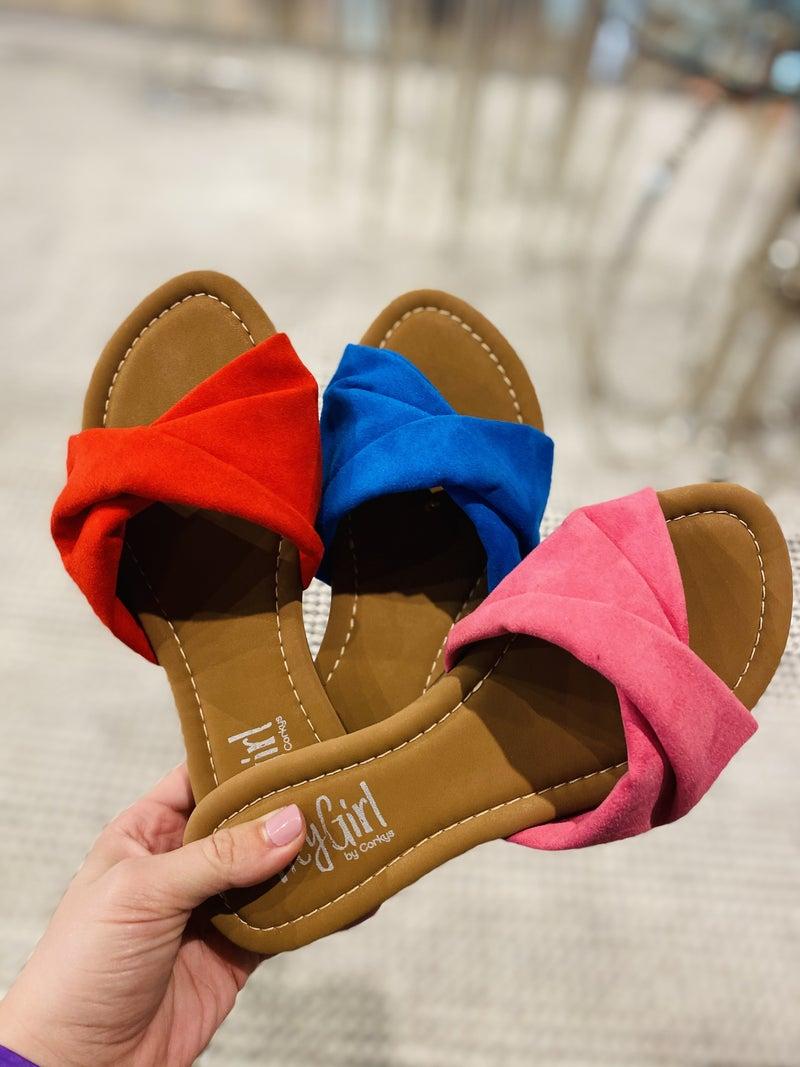 Corky Lemonade Sandal~ 3 Colors