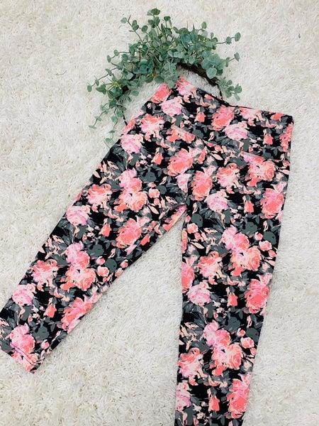 Floral Dream Capri Leggings