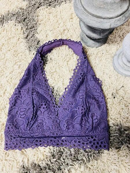 Lace Babe Lilac Bralette