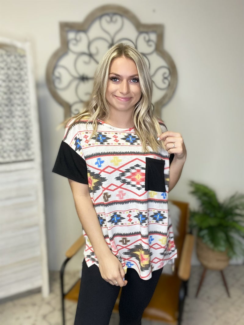 Aztec For Days Top