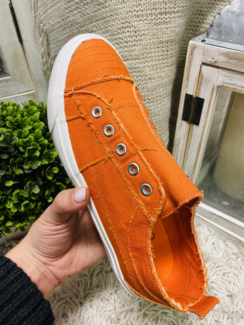 Corky Orange Babalu Sneaker