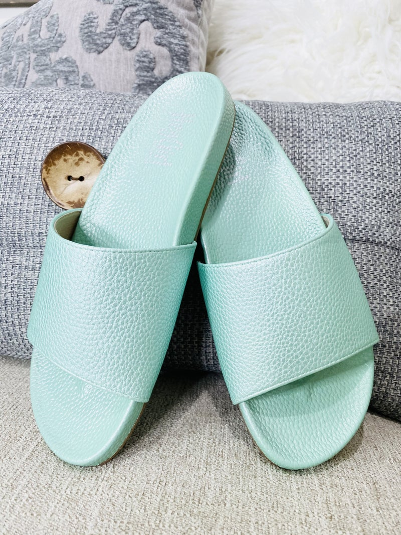 Corky Backyard Sandal- Mint