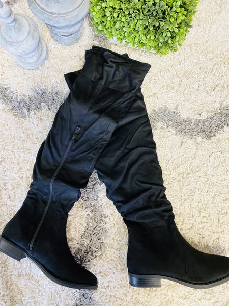 Wild For Winter Black Boots
