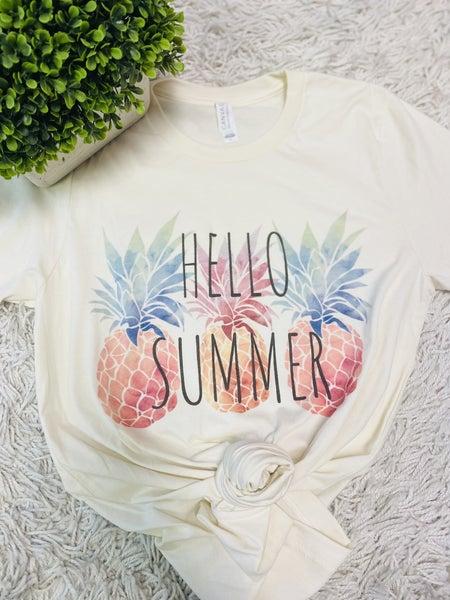 Hello Summer Graphic Tee