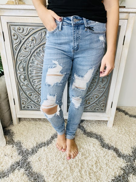 Judy Blue This Is Life Jeans