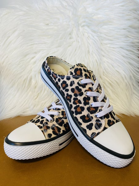Leopard Please Sneakers