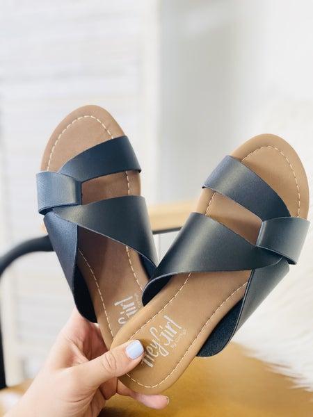 Corky Scuba Sandal- Black