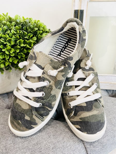 In Charge Camo Sneakers