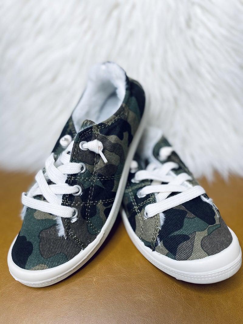 Camo Comfort Sneakers