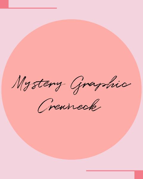 Mystery Graphic Crewneck