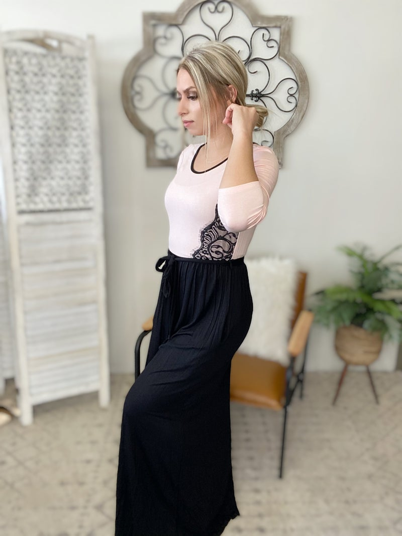 Leaving For The Day Lace Dress