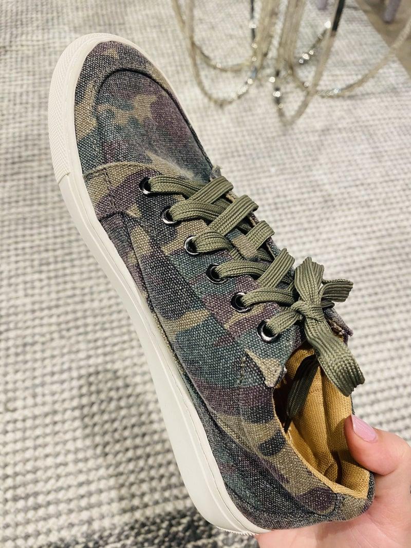 Corky Camo Puzzle Sneaker
