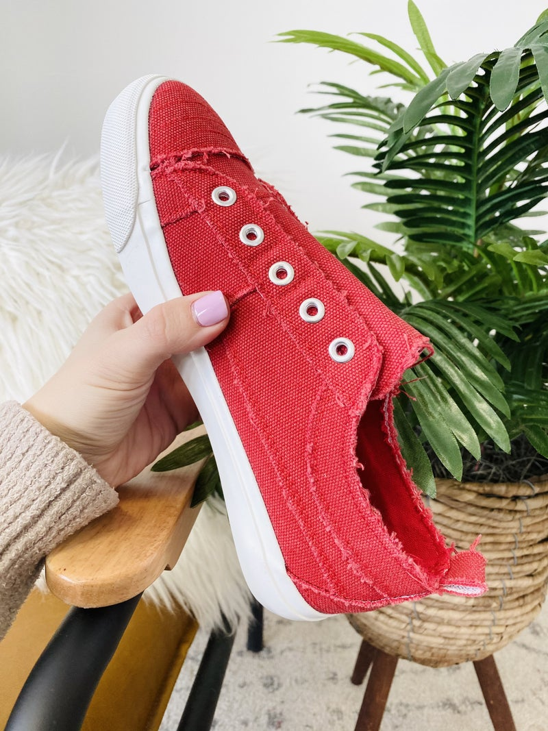 Corky Red Babalu Sneakers