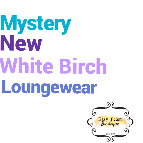 Mystery New White Birch Loungeset