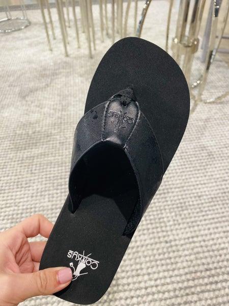 Corky Black Clover Flip Flop