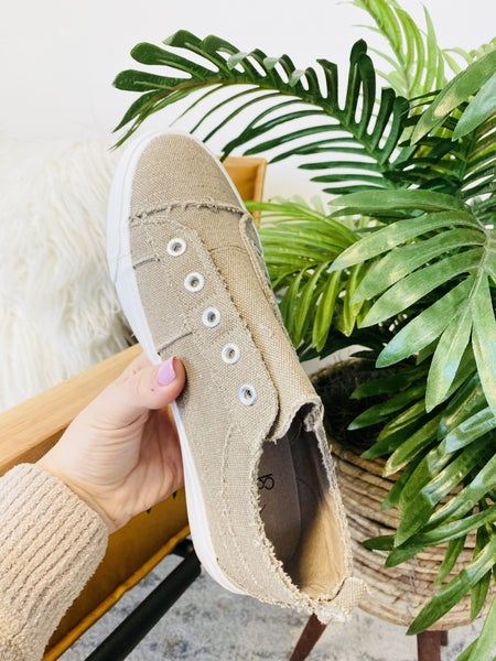 Corky's Taupe Babalu Sneakers