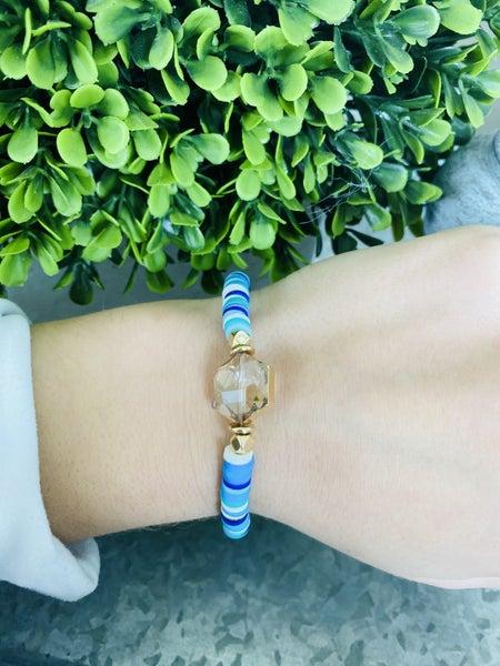 Ocean Breeze Heishi Bracelet