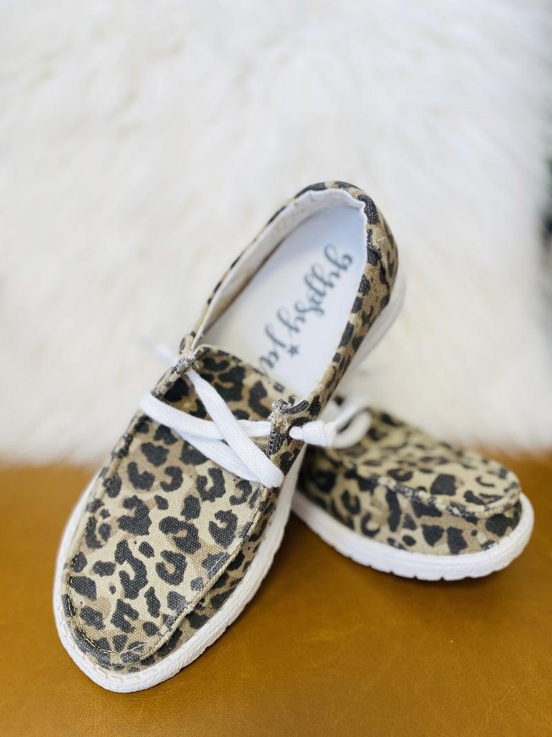 Very G Holly Leopard Slip On Sneaker