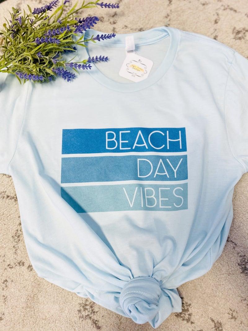 Beach Day Vibes Graphic Tee