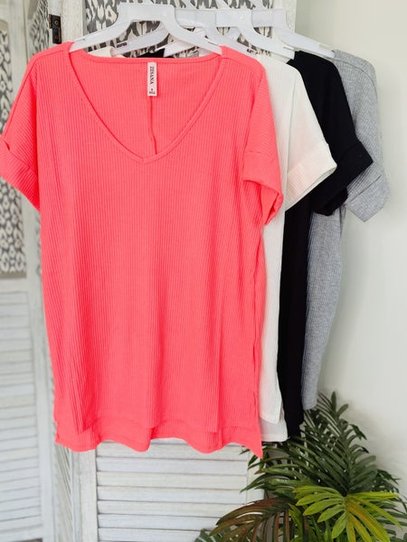 Hide Away Top~ 4 Colors