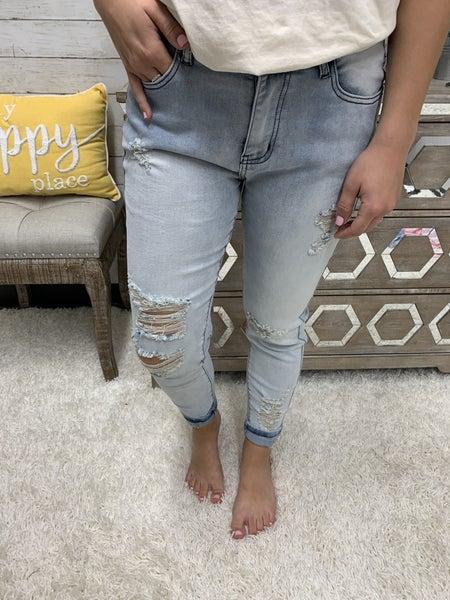 Damsel In Distress Skinny Jeans by Crazy Train