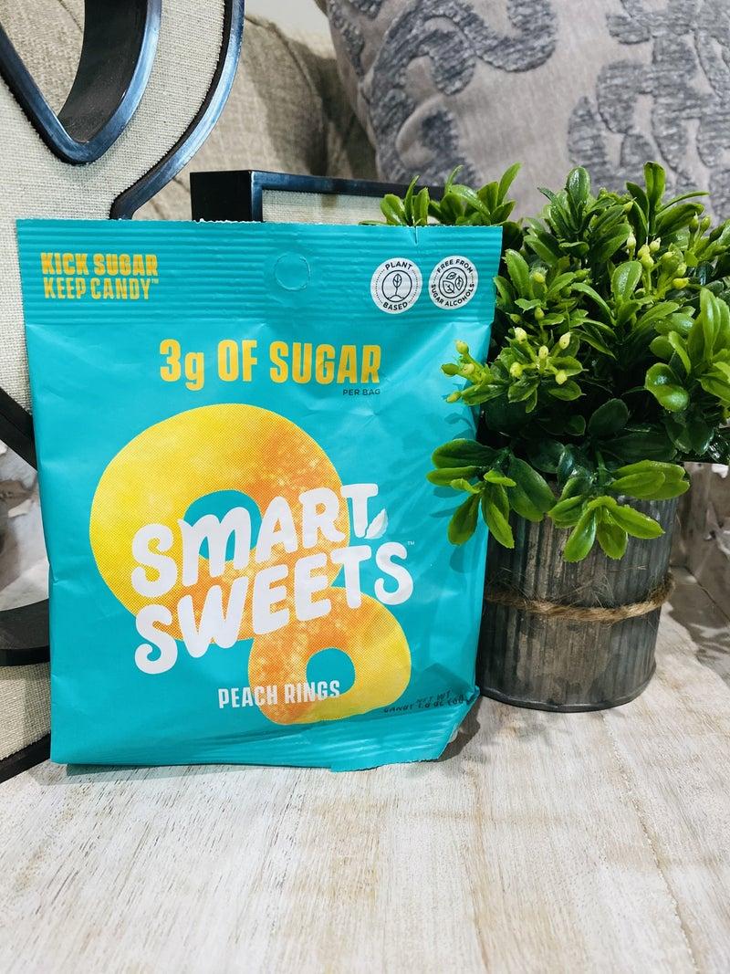 SmartSweets Peach Gummy Rings