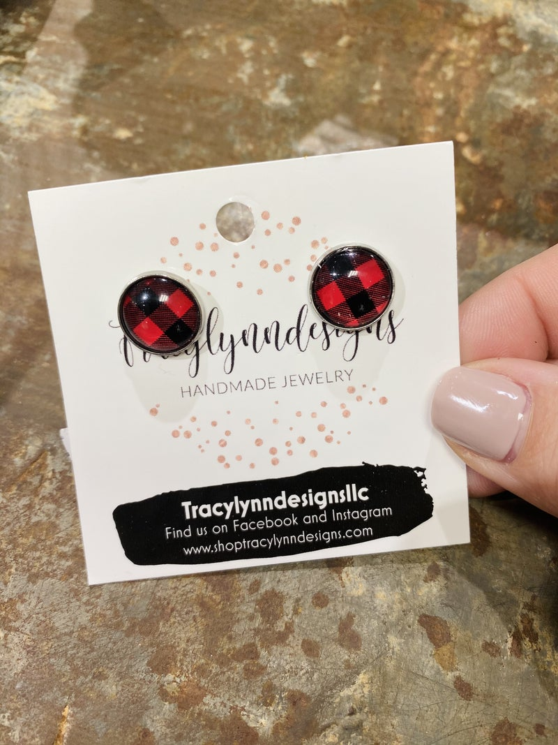 Plaid For You Earrings