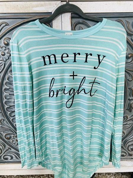 Merry + Bright Tee