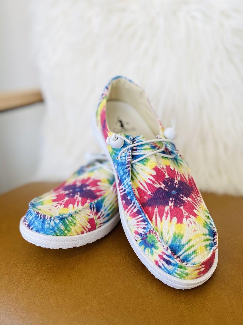 Corky Kayak Tie Dye Sneaker