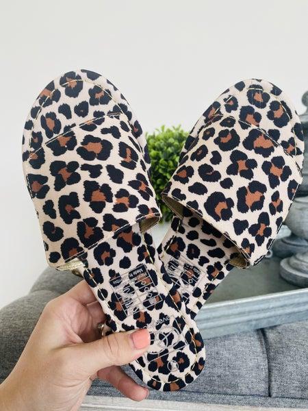 Mimi Leopard Sandal