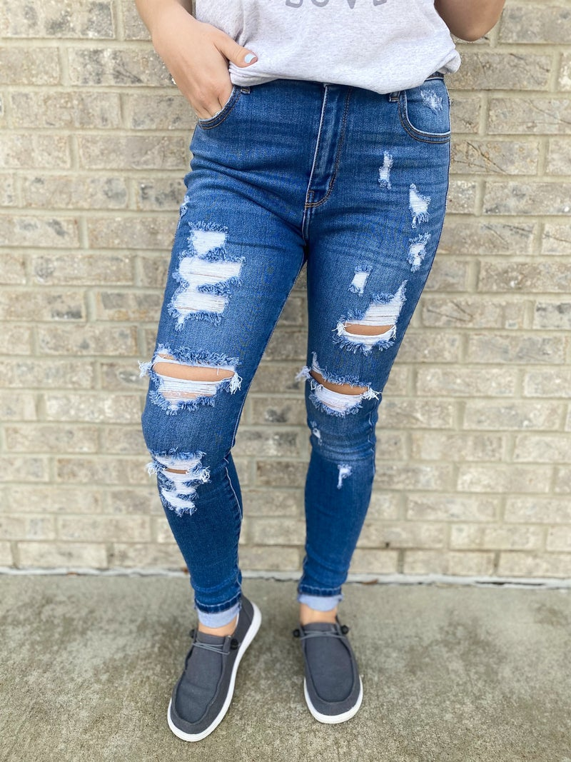 The Beauty Is In The Beholder Jeans