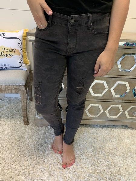 Hidden In The Shadows Camo Jeans