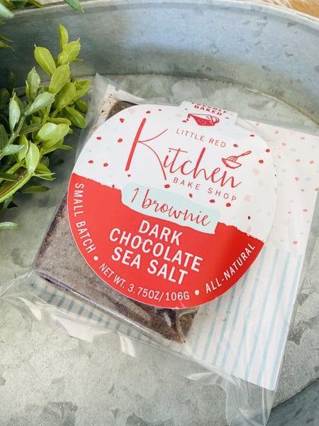 Dark Chocolate Sea Salt Brownies