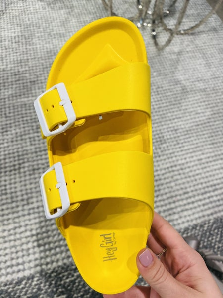 Corky Waterslide Yellow Sandal