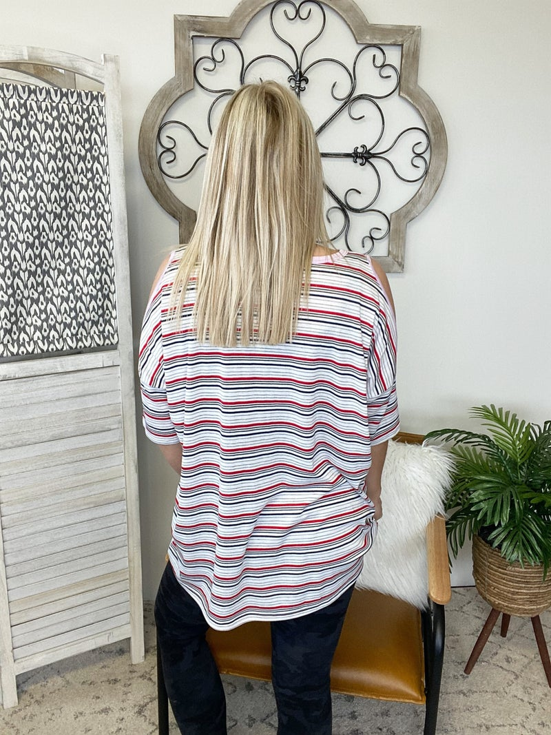 Pick Stripes For Me Top
