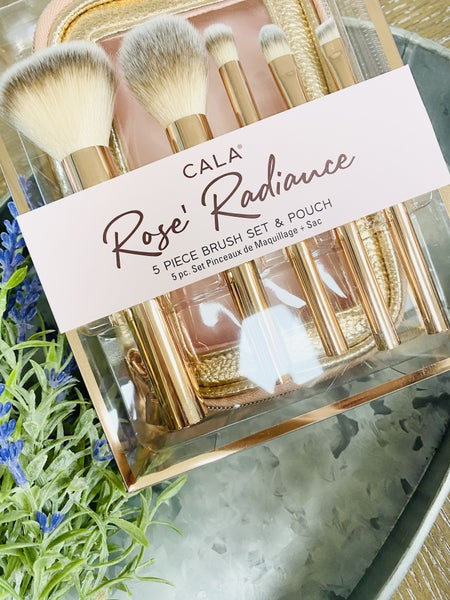 Rose Radiance Brush Set- 5 piece