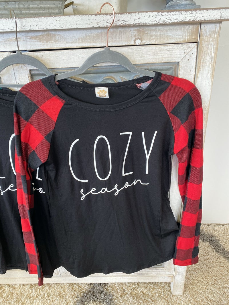 Cozy Season Longsleeve~ 3 Colors