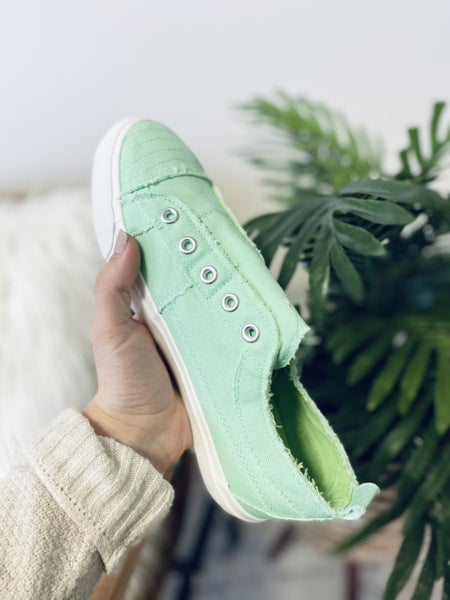 Corky Babalu's Mint Sneakers