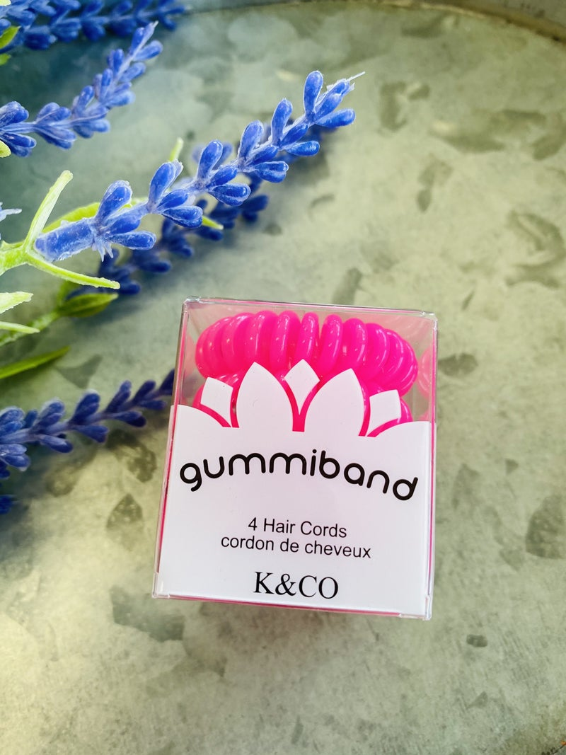 Gummiband Hair Ties - 21 Colors
