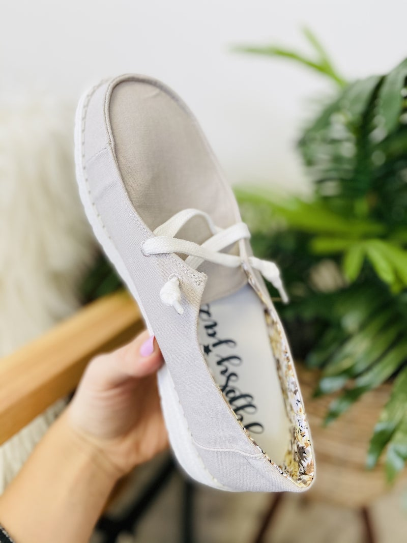 Very G Holly Grey Slip On Sneaker